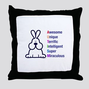 Autism 317 front Throw Pillow
