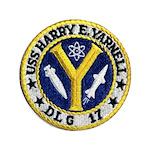 USS HARRY E. YARNELL Button