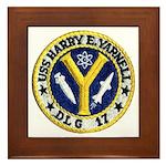 USS HARRY E. YARNELL Framed Tile