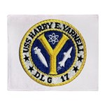 USS HARRY E. YARNELL Throw Blanket