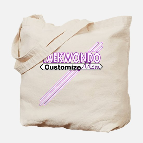 Taekwondo Mom Tote Bag