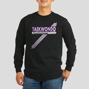 Taekwondo Mom Long Sleeve Dark T-Shirt