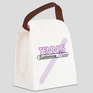 Tennis Mom Canvas Lunch Bag