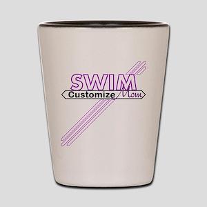 Swim Mom Shot Glass
