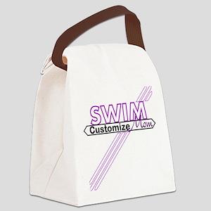 Swim Mom Canvas Lunch Bag