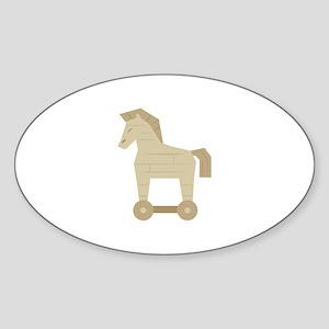Trojan Horse Sticker