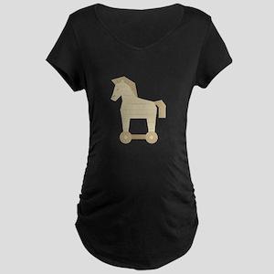 Trojan Horse Maternity T-Shirt