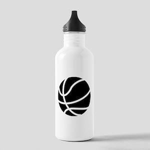 Basketball Black Stainless Water Bottle 1.0L