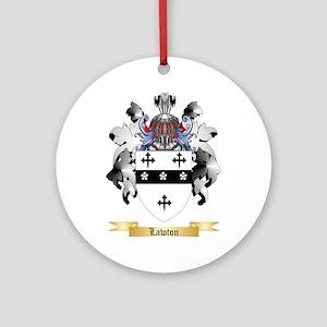 Lawton Ornament (Round)