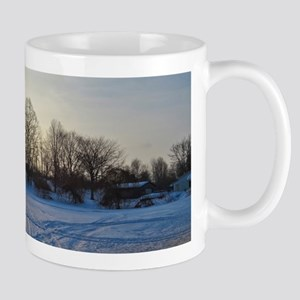 Icy Snow Trail Mugs
