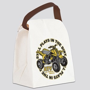 Plays in the Dirt ATV Canvas Lunch Bag