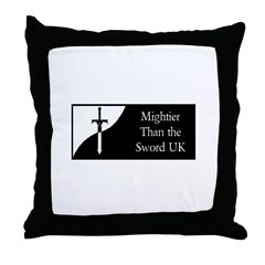 MTtS_UK Logo Throw Pillow