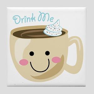Drink Me Tile Coaster