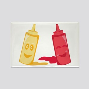 Ketchup & Mustard Magnets
