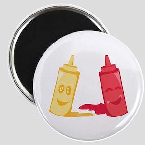 Ketchup & Mustard Magnets