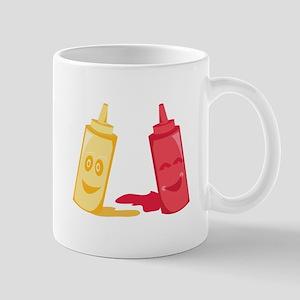 Ketchup & Mustard Mugs