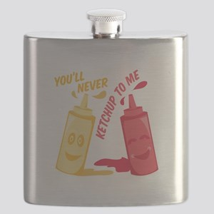 Ketchup To Me Flask