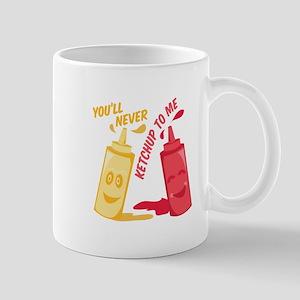 Ketchup To Me Mugs