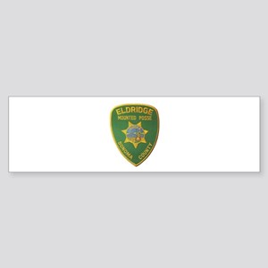 Eldridge Mounted Posse Bumper Sticker