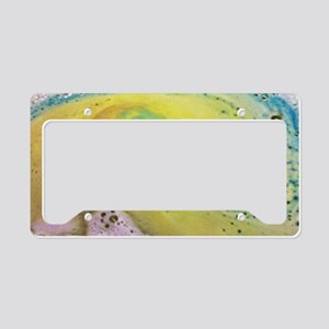 Fizzy Bubble Tears License Plate Holder