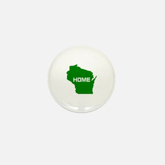Wisconsin is Home Mini Button