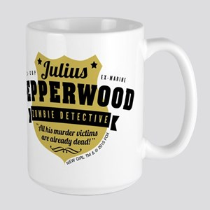 New Girl Julius Pepperwood Large Mug