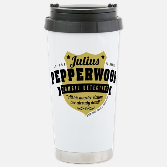 New Girl Julius Pepperw Stainless Steel Travel Mug