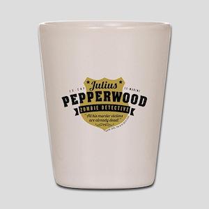 New Girl Julius Pepperwood Shot Glass