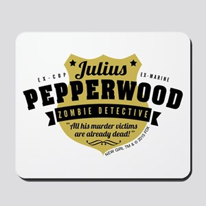 New Girl Julius Pepperwood Mousepad
