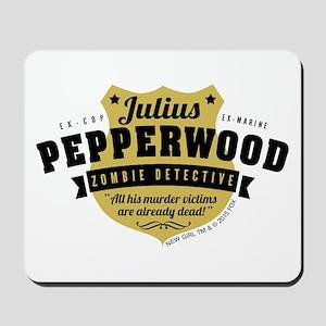 New Girl Julius Pepperwood Mousepad