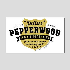 New Girl Julius Pepperwood Car Magnet 20 x 12