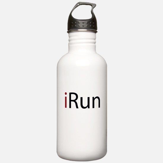 iRun (red) Water Bottle