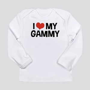 I Love My Gammy Long Sleeve Infant T-Shirt