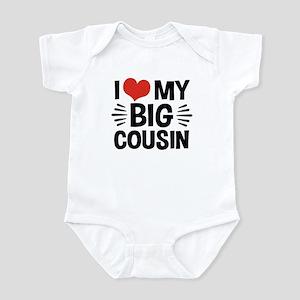 I Love My Big Cousin Infant Bodysuit