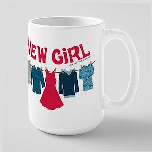 New Girl Laundry Large Mug