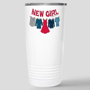 New Girl Laundry Stainless Steel Travel Mug