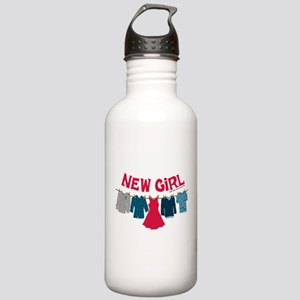 New Girl Laundry Stainless Water Bottle 1.0L