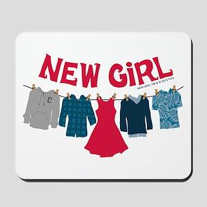 New Girl Laundry Mousepad