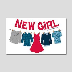 New Girl Laundry Car Magnet 20 x 12