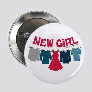 "New Girl Laundry 2.25"" Button"