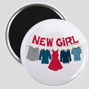 New Girl Laundry Magnet