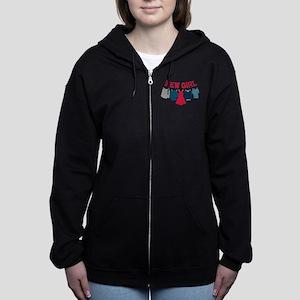 New Girl Laundry Women's Zip Hoodie