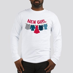 New Girl Laundry Long Sleeve T-Shirt