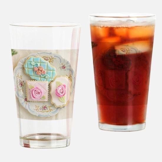 Sugar cookies Drinking Glass