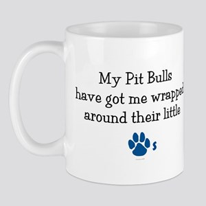 Wrapped Around Their Paws (Pit Bull) Mug