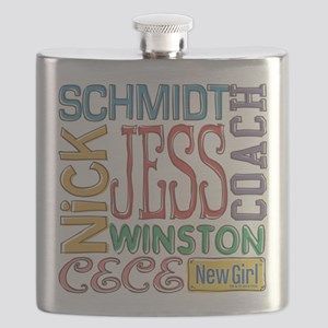 New Girl Names Flask