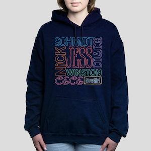 New Girl Names Women's Hooded Sweatshirt
