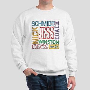 New Girl Names Sweatshirt