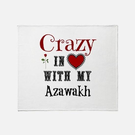 Azawakh Throw Blanket