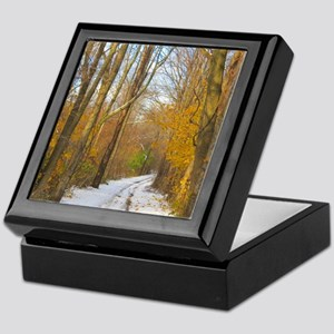 Autumn Winter Keepsake Box